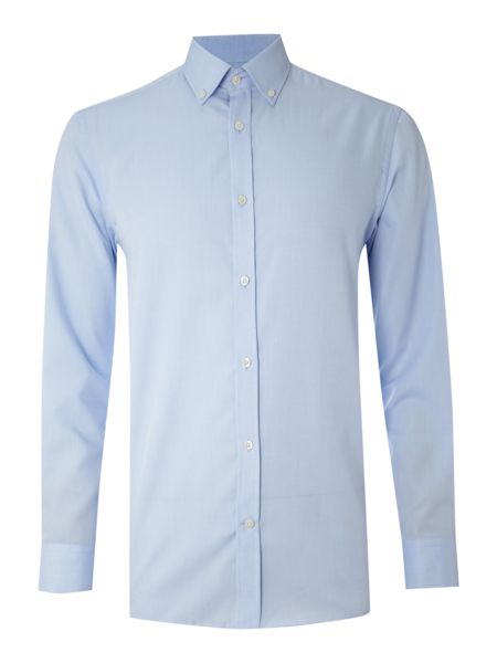 Howick Tailored Cotton oxford button down formal shirt