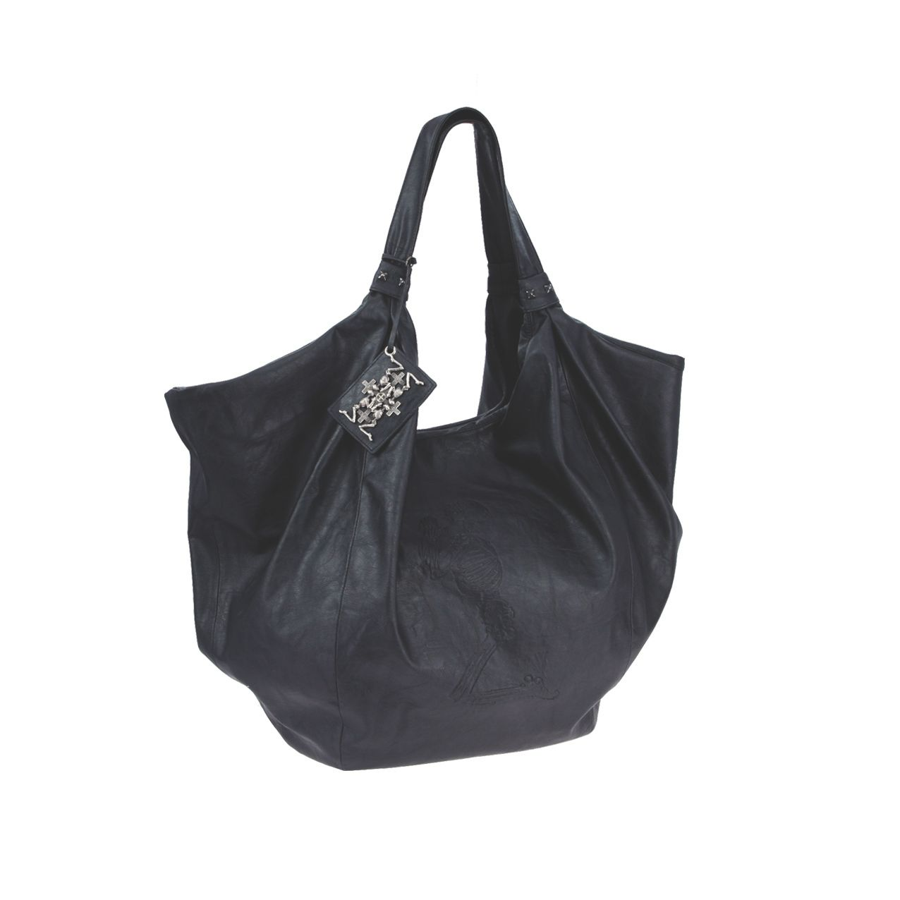 Impact slouchy shoulder bag