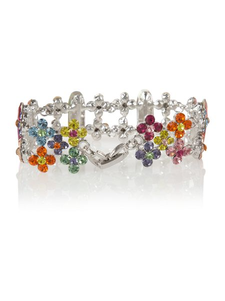 Gemini Haute couture bracelet with crystals