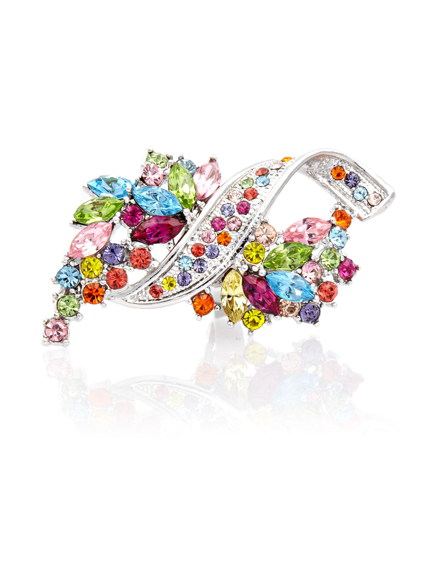 Gemini Multi statement haute couture swarovski ring