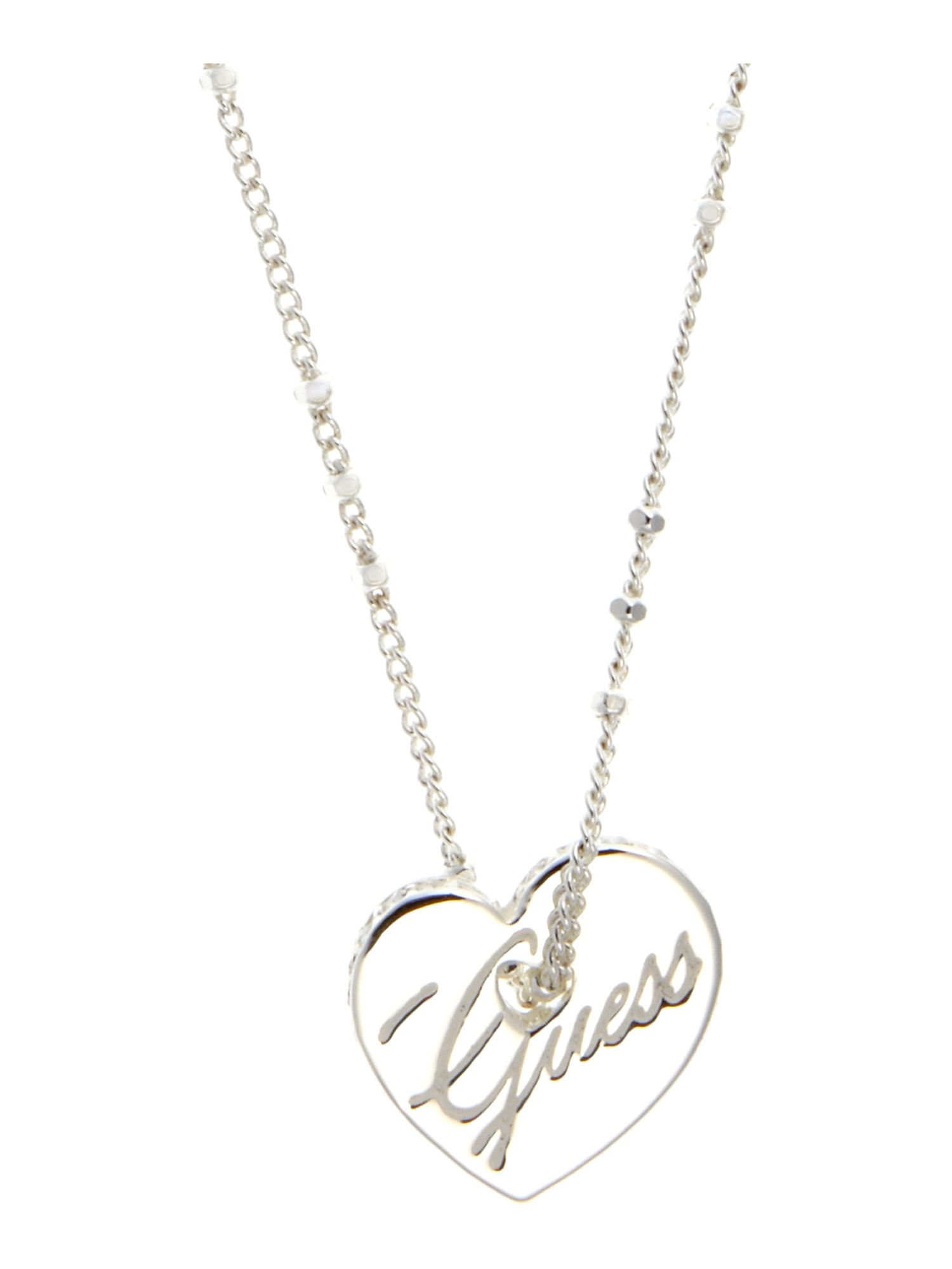 Guess Serephine Heart Necklace