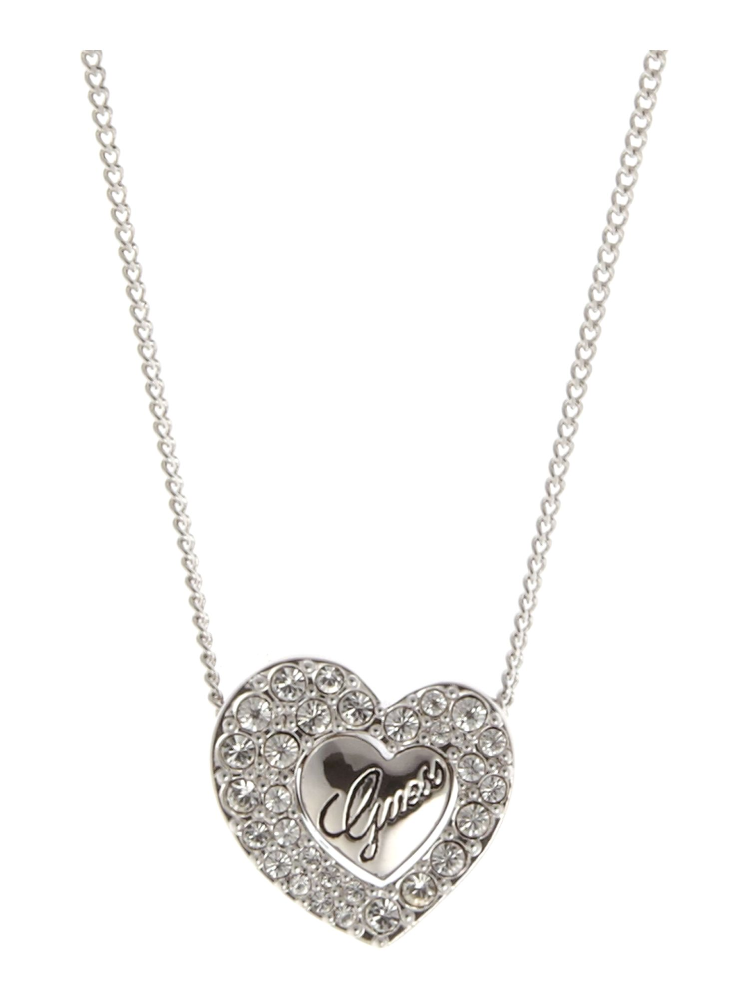 Guess Serena Heart Necklace