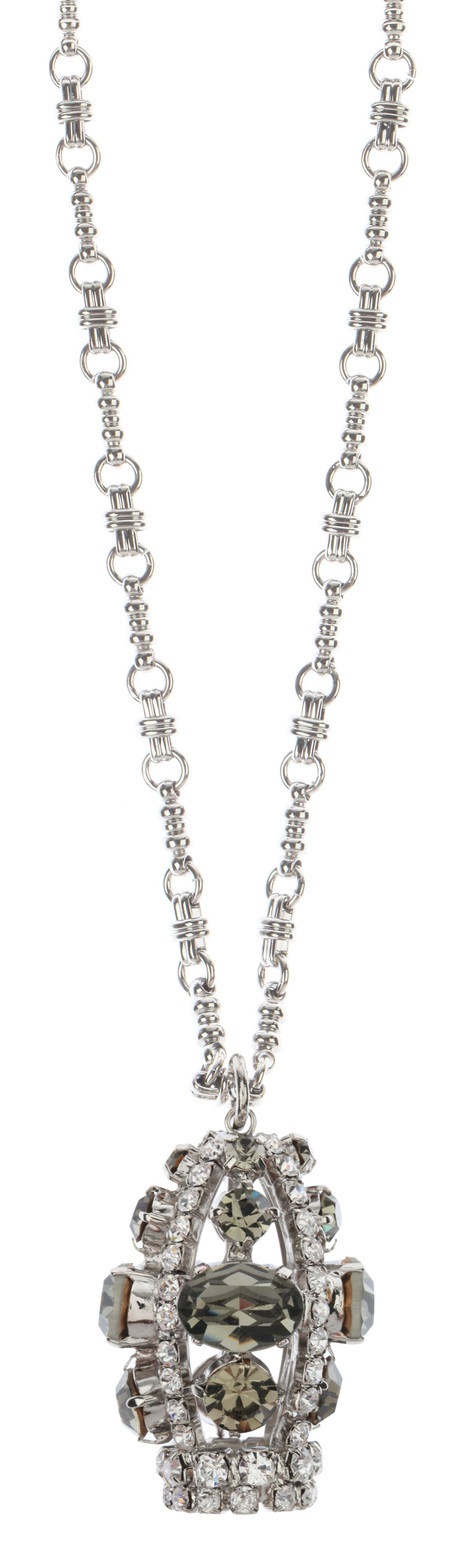 Martine Wester Crystal Long Necklace