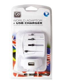Go Travel Worldwide & usb adaptor