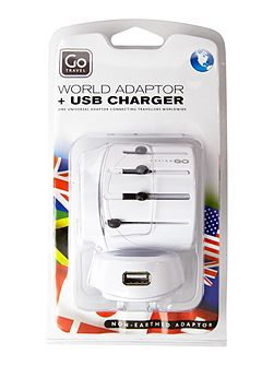 Worldwide & usb adaptor