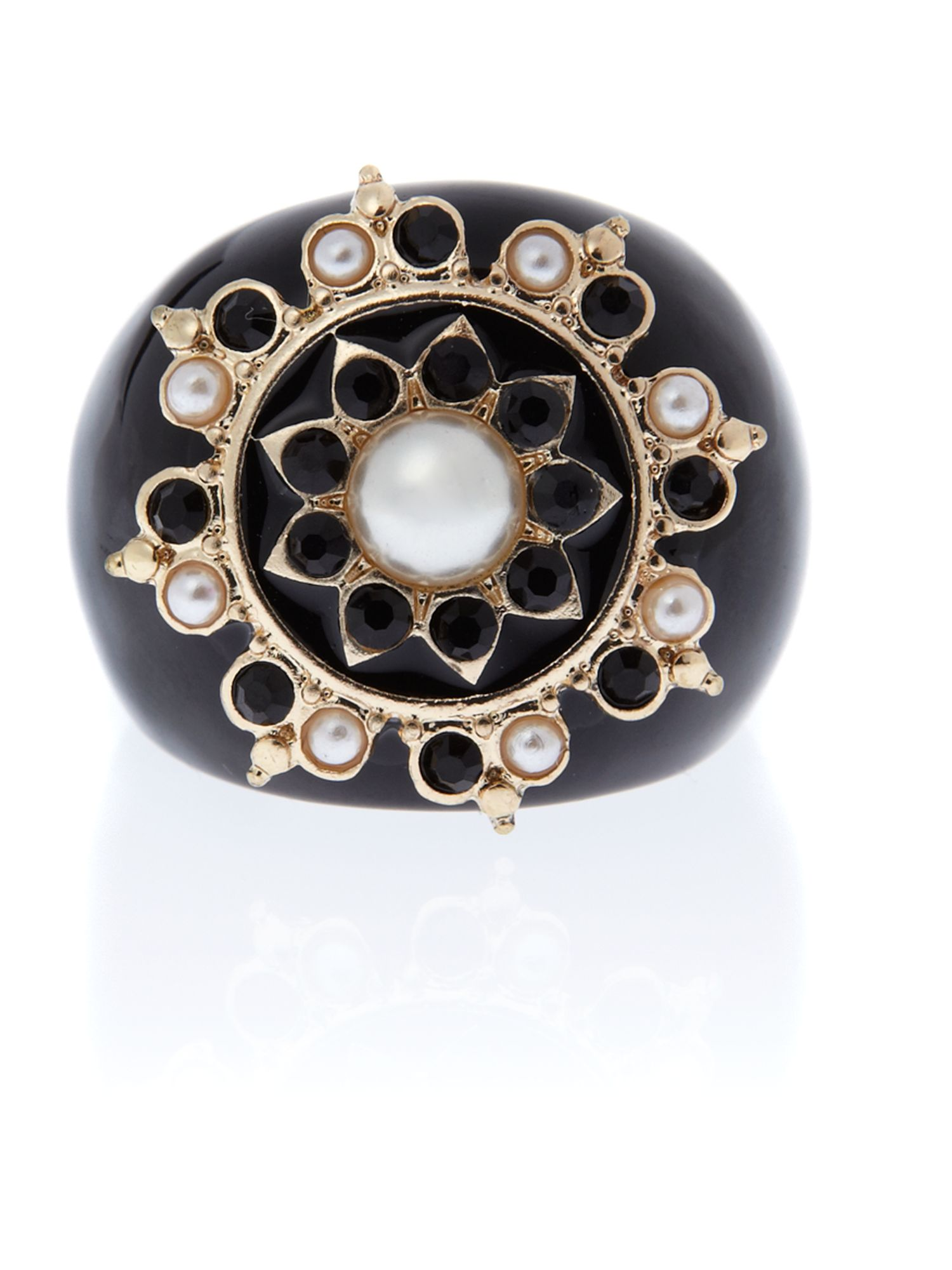 Ziba Vintage Ring With Gold Star