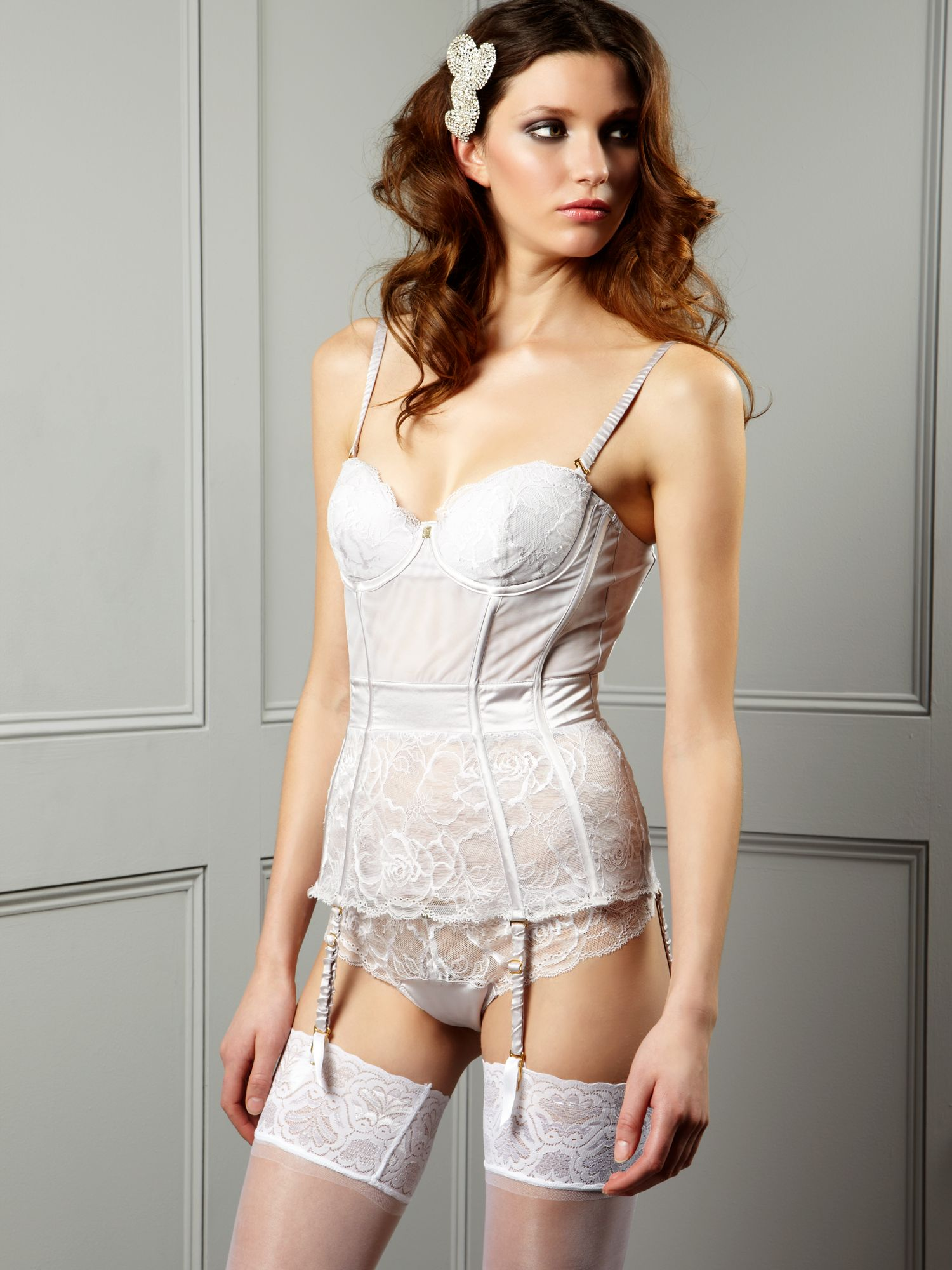 Rose of persia strapless bustier