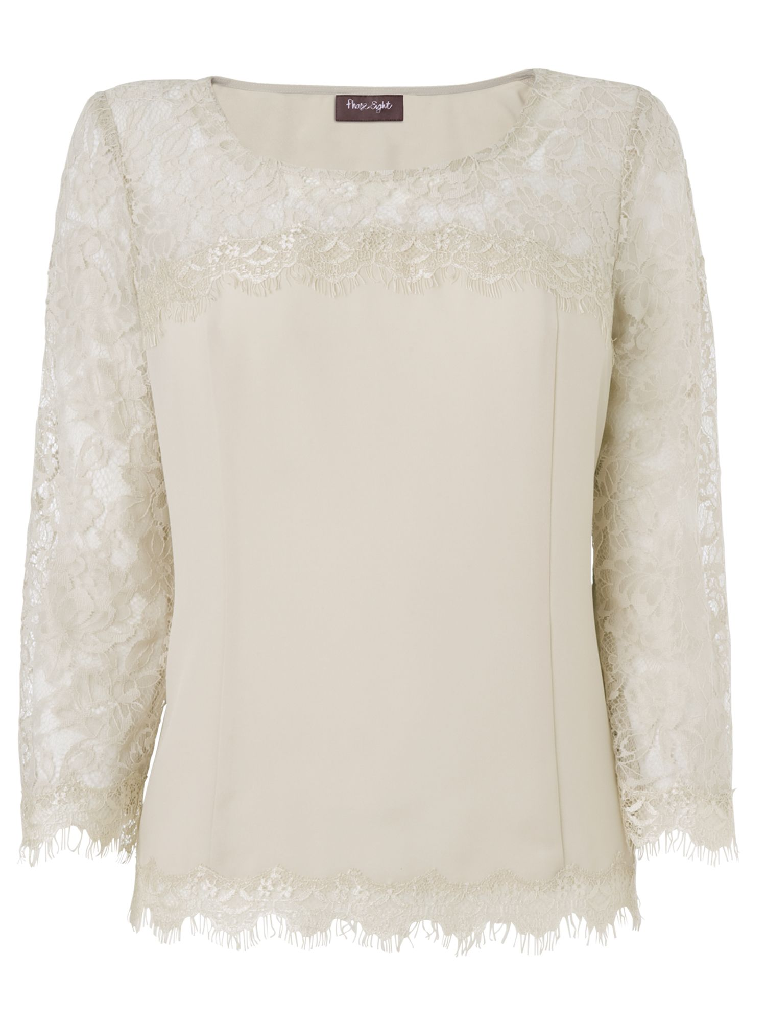 Jasmine lace sleeve blouse