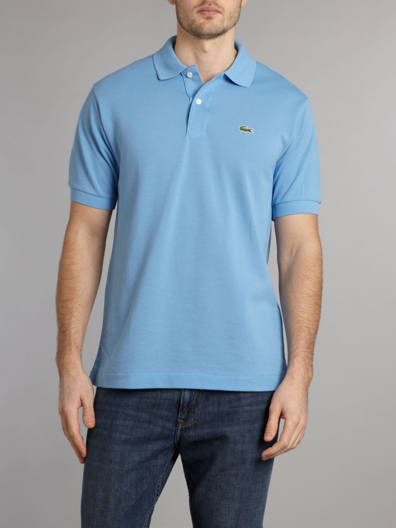 Classic fitted polo shirt