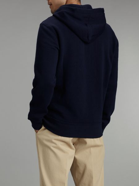 Polo Ralph Lauren Zip-through cotton-blend hoody
