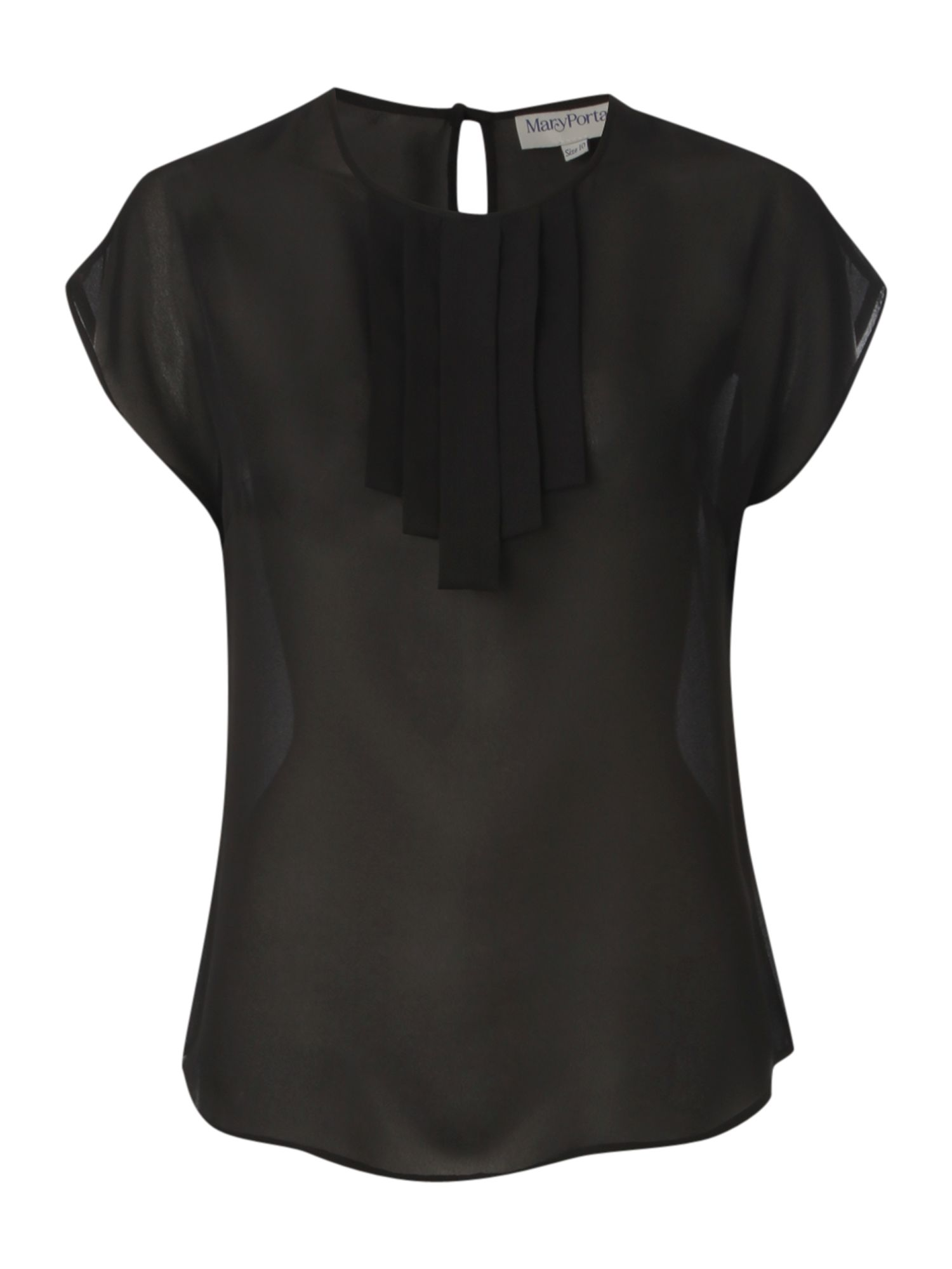 Mary Portas Womens Mary Portas Pleat front blouse, product image
