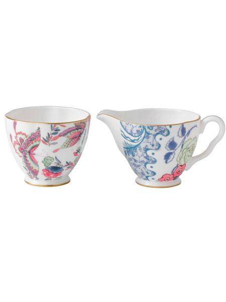 Wedgwood Butterfly bloom cream and saucer