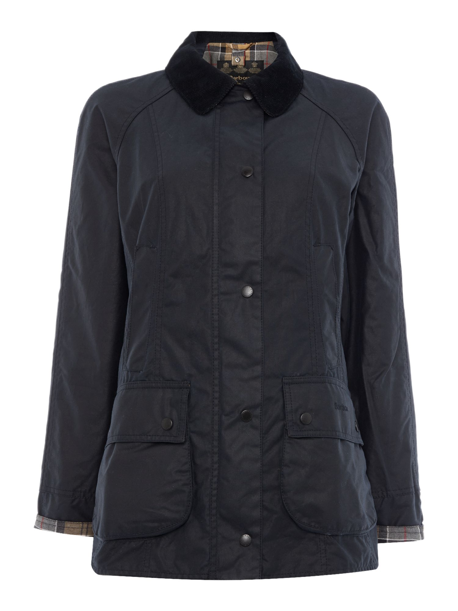 Barbour Beadnell waxed jacket, Blue