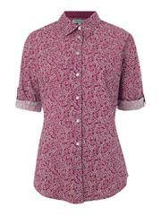 Dickins & Jones Ladies printed voile shirt