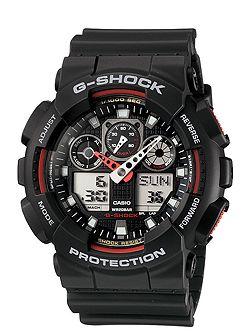 G-Shock GA-100-1A4ER black sports mens watch