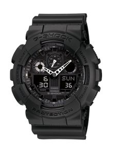 G-Shock G-Shock GA-100-1A1ER black sports mens watch
