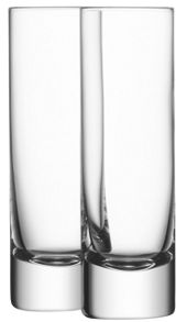 Bar Collection set of four long drink glasses