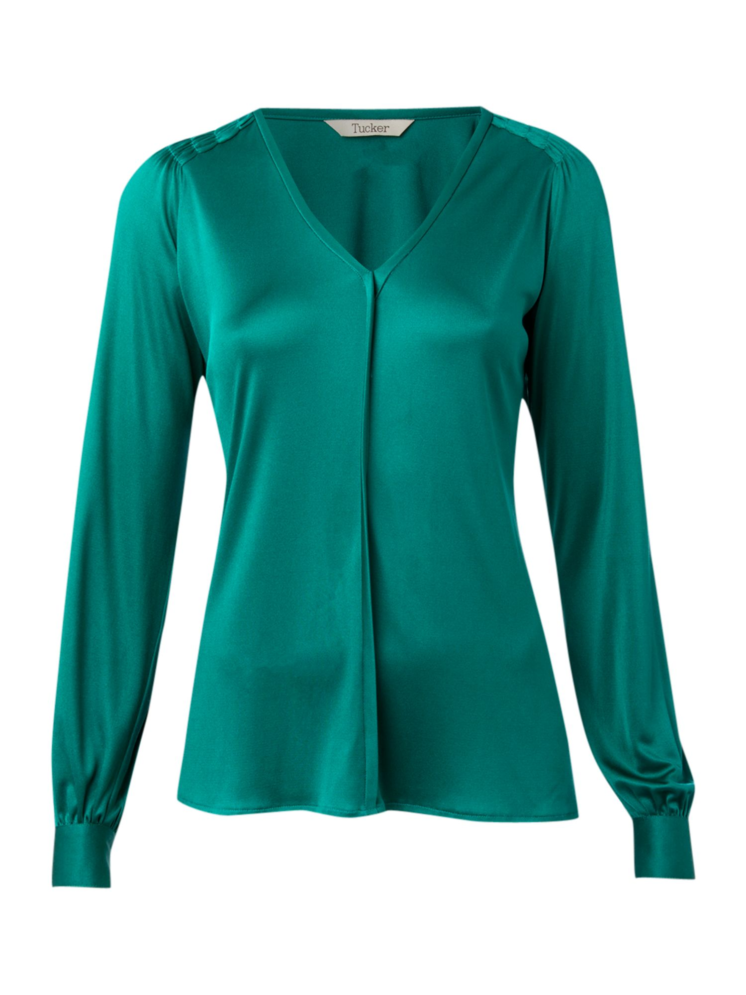 Tucker Womens Tucker Long sleeve v neck blouse, product image