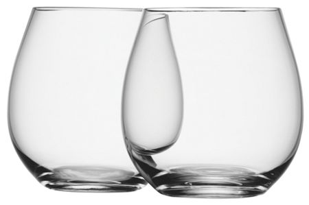 LSA Wine Collection set of four stemless white wine