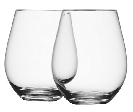 LSA Wine collection stemless red wine, set of 4