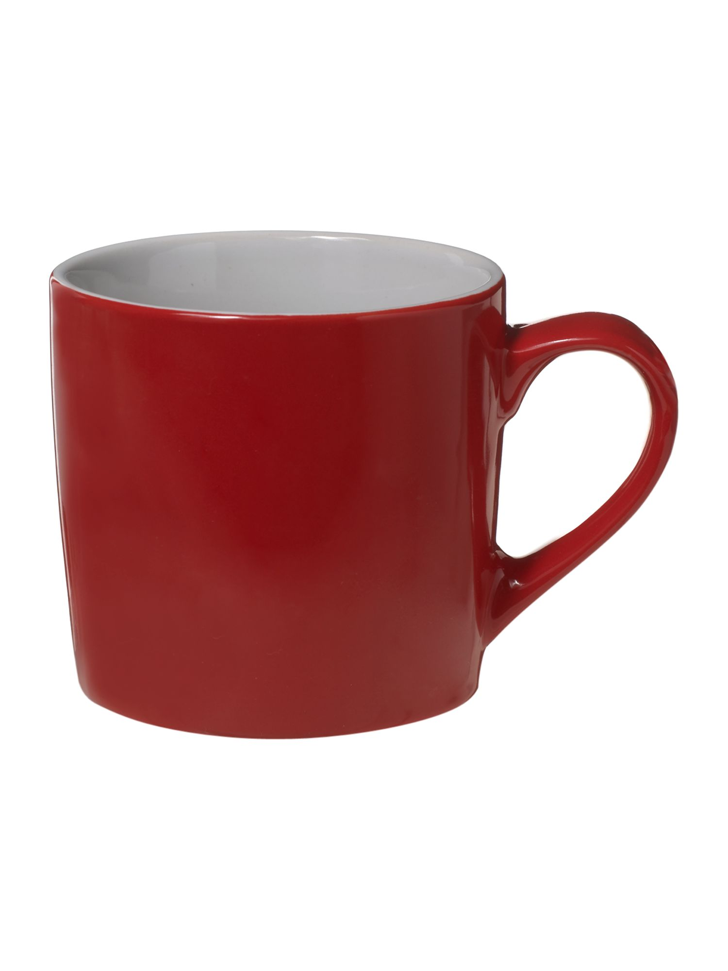 Red colour mug
