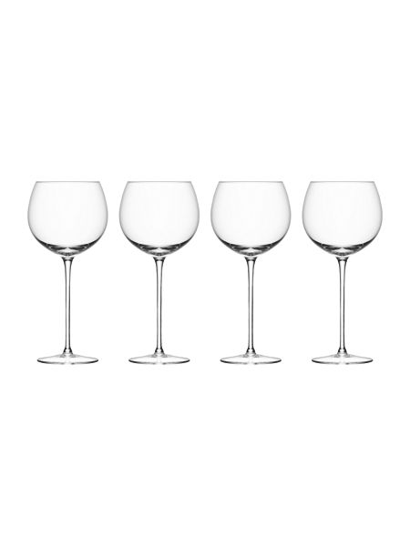 LSA Wine collection balloon wine glasses, set of 4