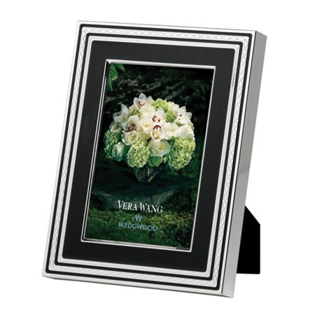 Wedgwood With love noir 4 x 6 inch frame
