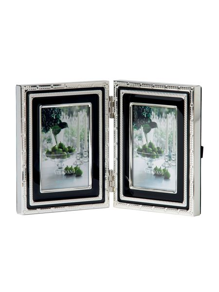 Wedgwood Vera wang with love noir folding frame 5x7.5cm