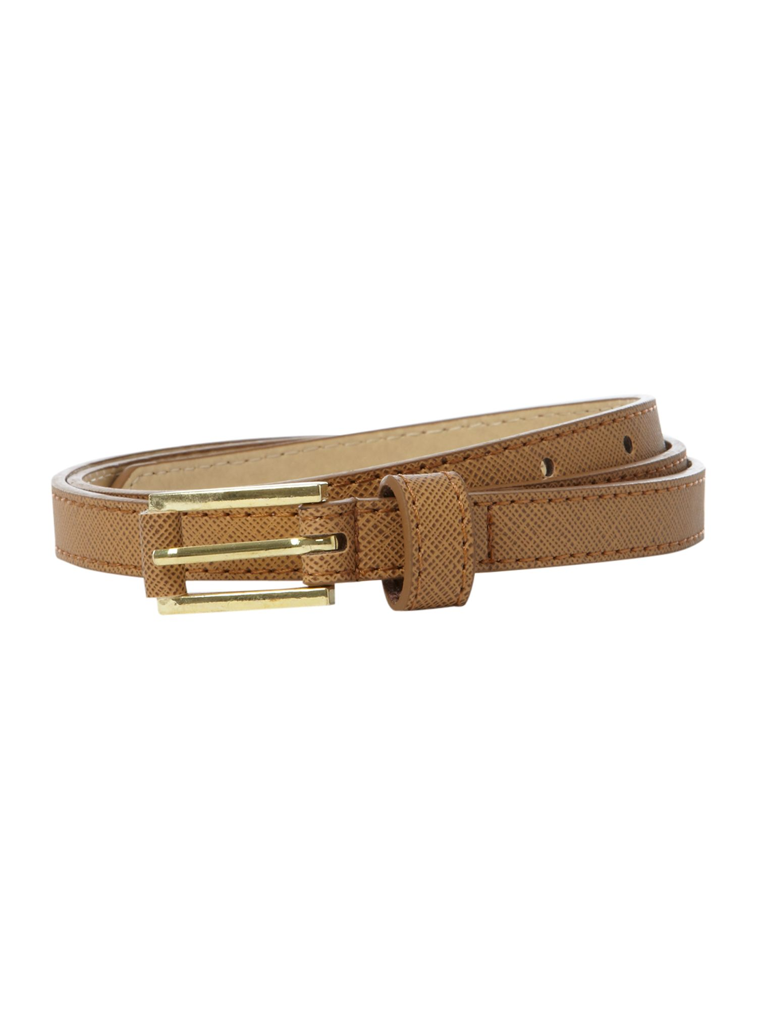 Simple skinny belt