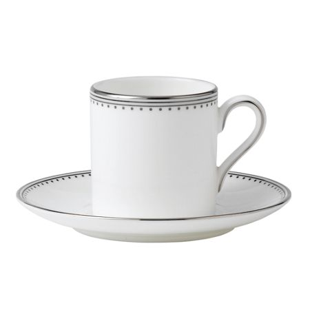 Wedgwood Grosgrain Bond Coffee Saucer