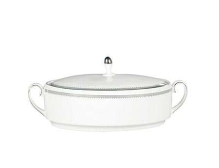 Wedgwood Grosgrain covered vegetable dish