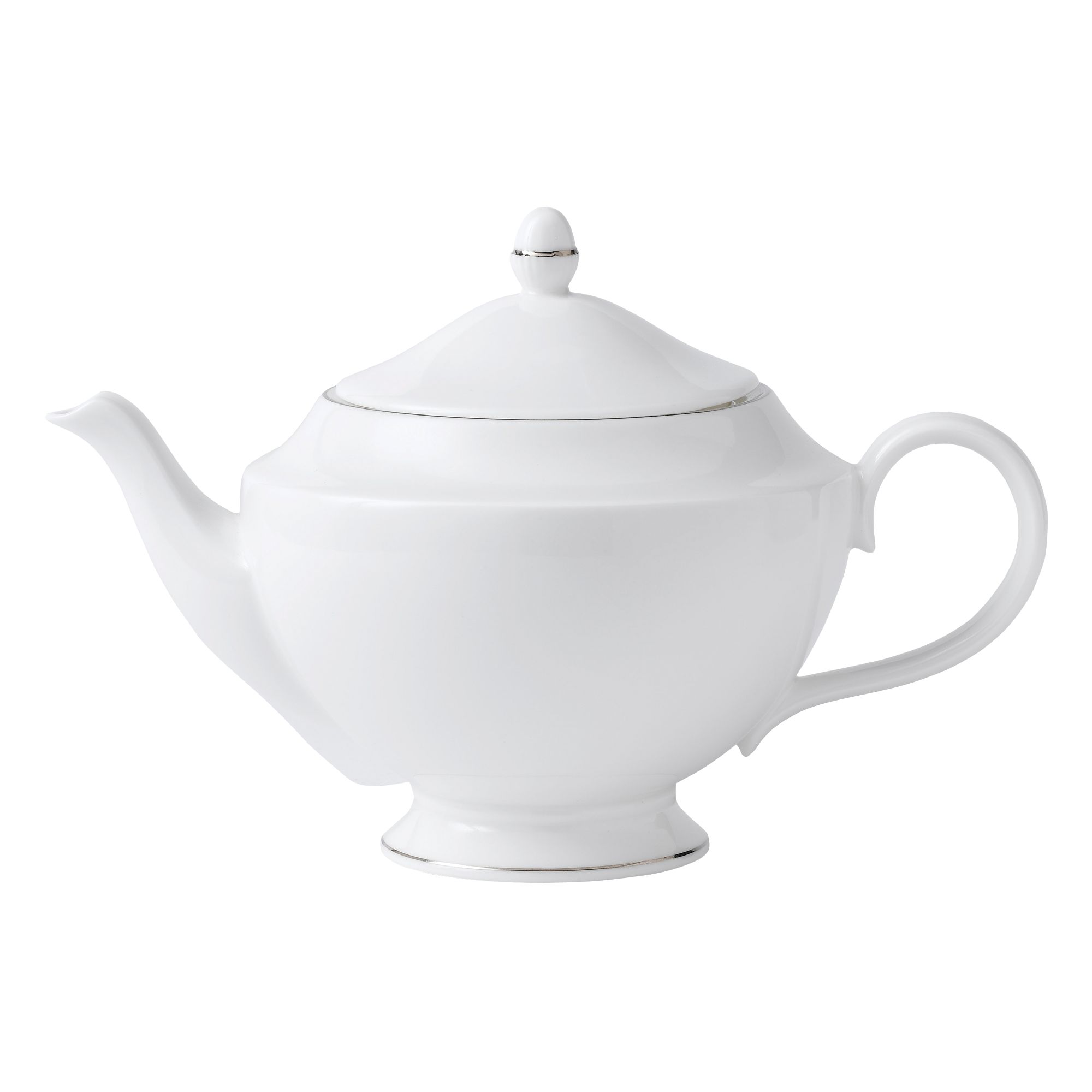Signet platinum fine china teapot