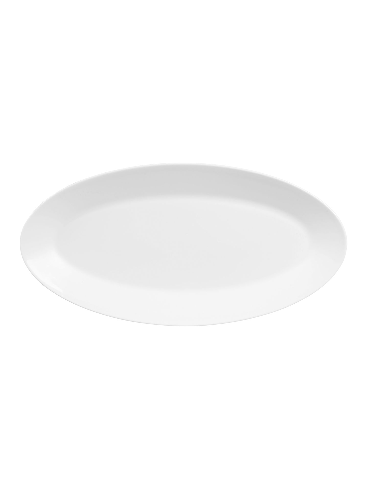 White large oval platter