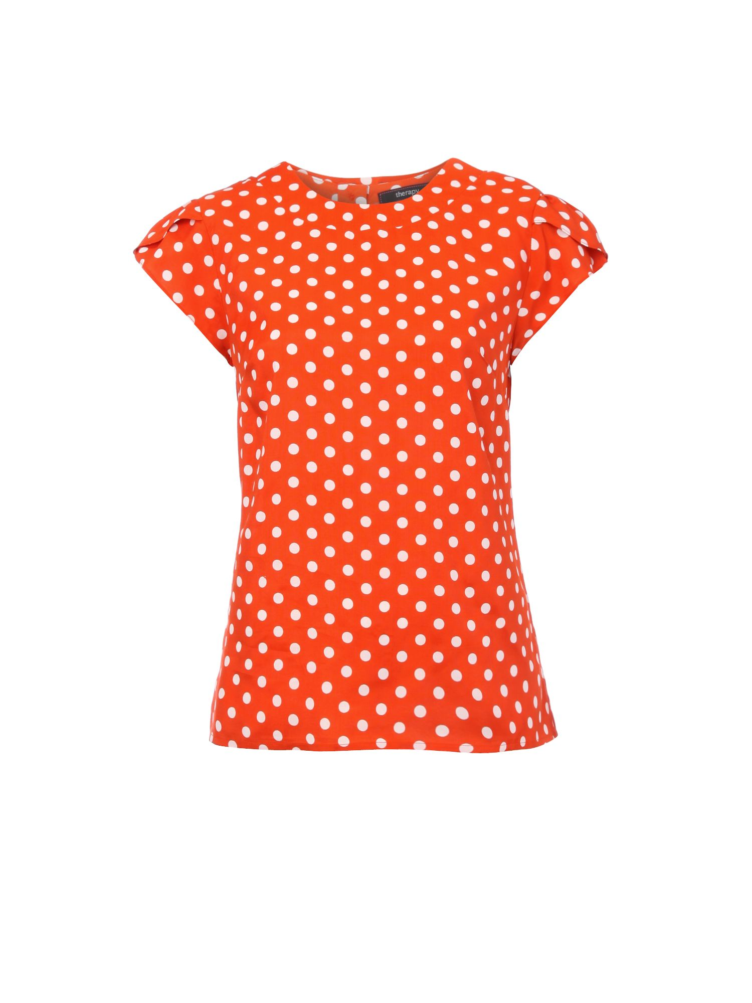 Therapy Womens Therapy Spot blouse, Orange 160912195 product image