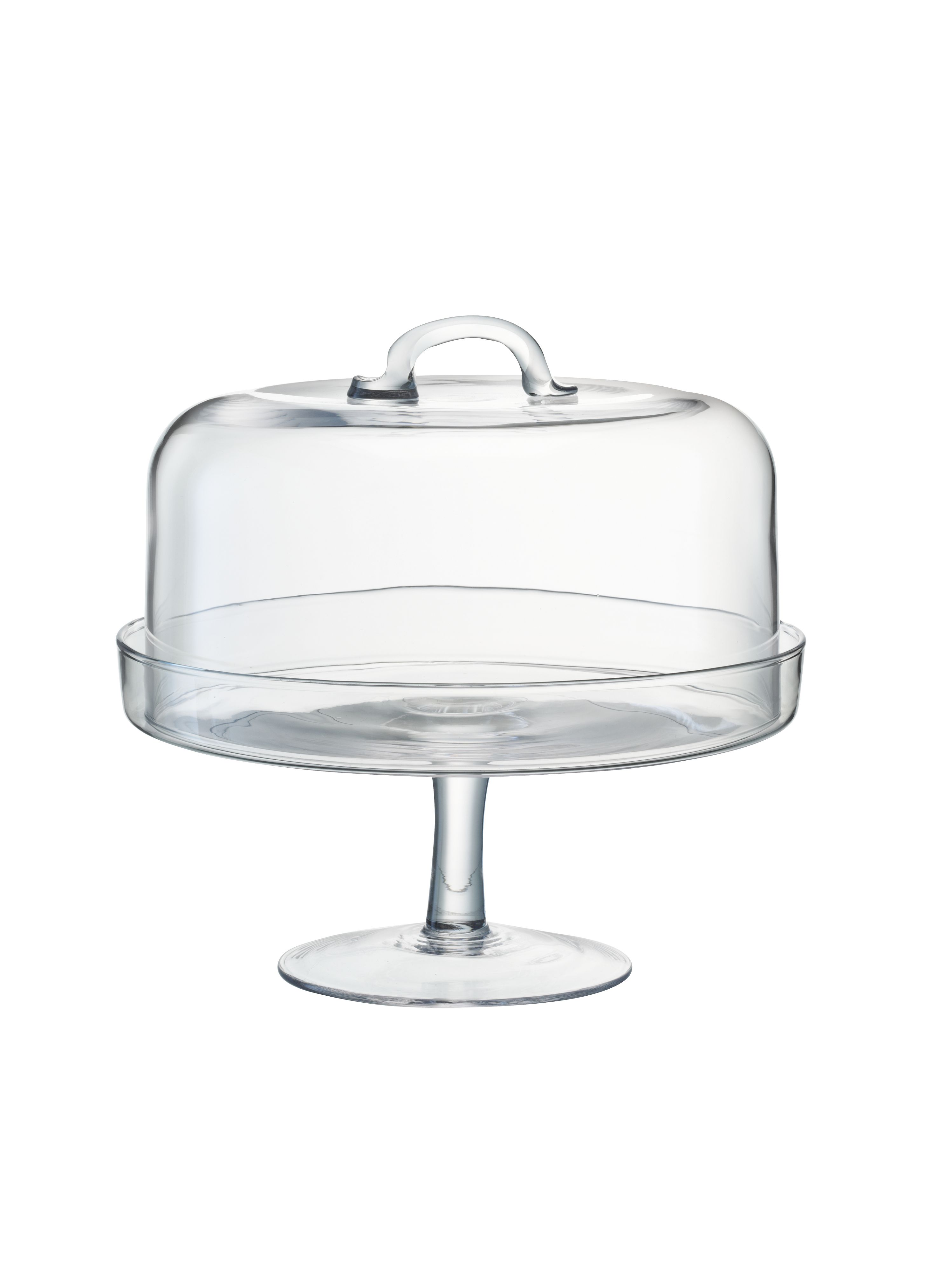 Serve cakestand & dome 24cm