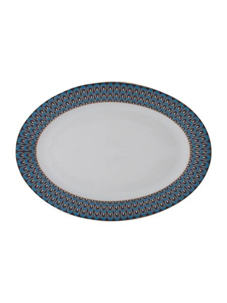 Pied a Terre Peacock serving platter