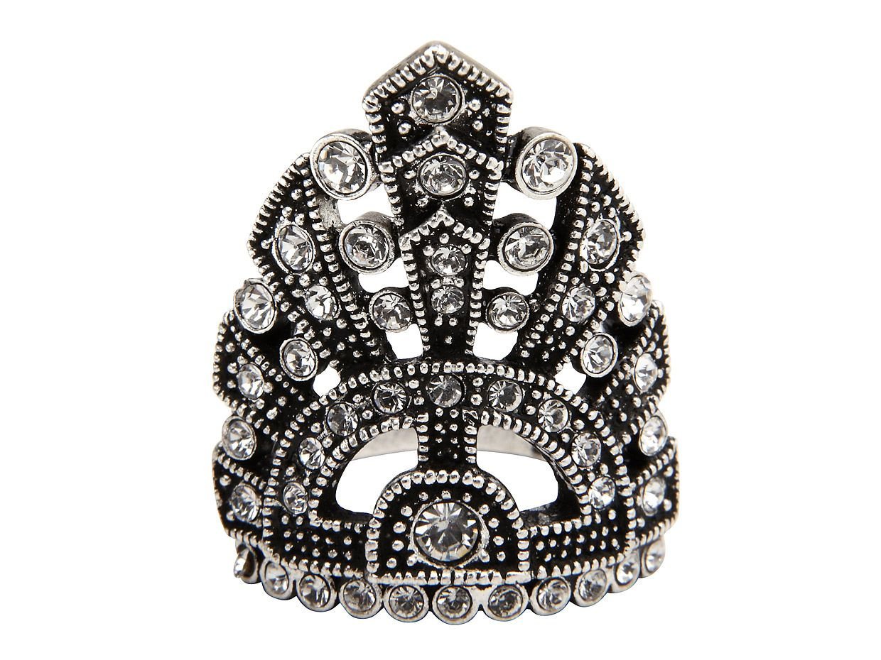 Mimco Enchanted Ring, Silver