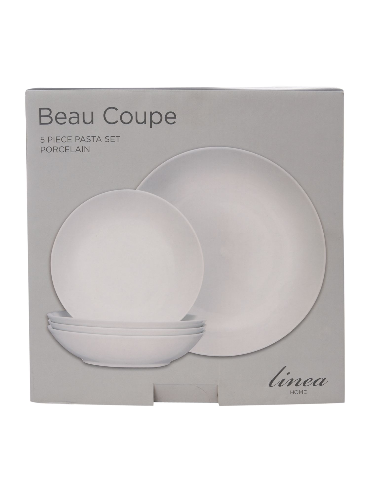 Beau coupe 5 piece pasta set