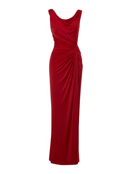 Biba Clara cowl back maxi dress