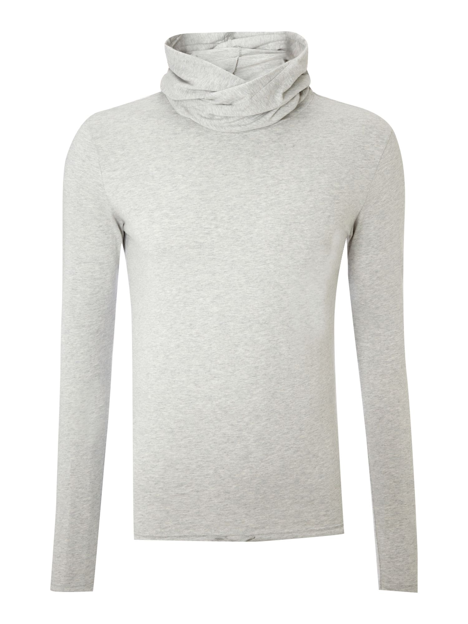 Gio Goi Mens Gio Goi Long sleeved hooded t-shirt, product image