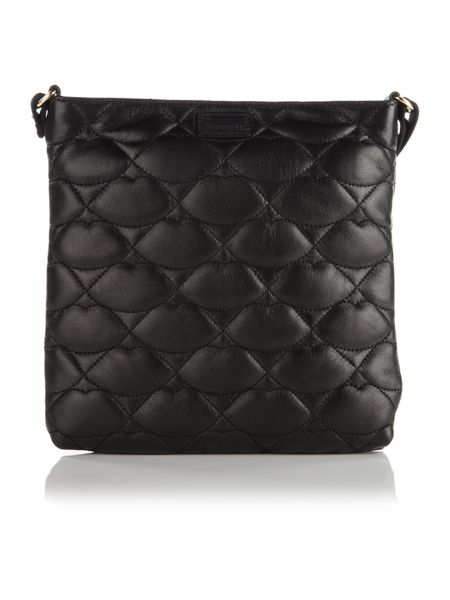 Lulu Guinness Small jamie quilted crossbody bag