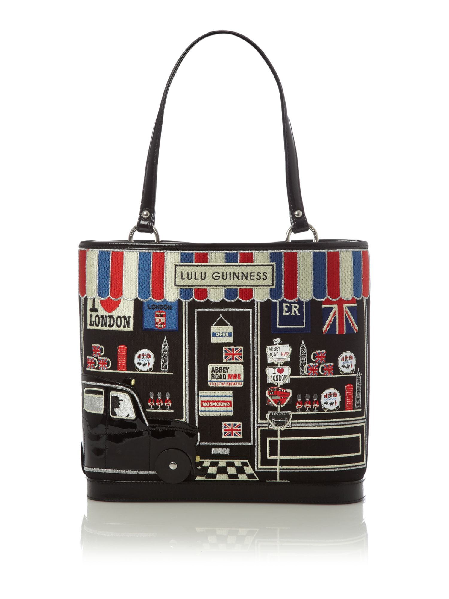 Large edith souvenir shop tote bag