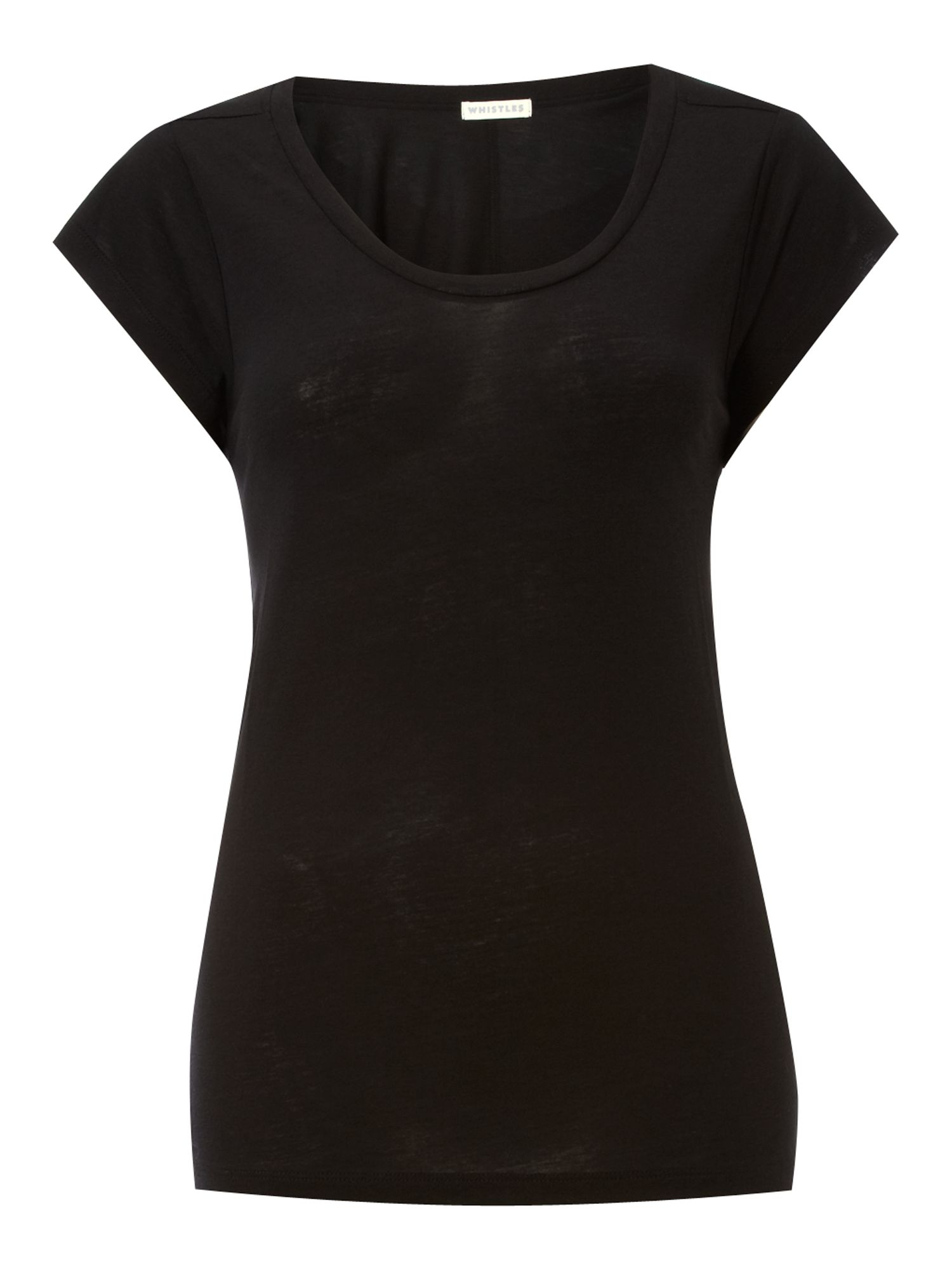Whistles Womens Whistles T-shirt knitted cotton, product image