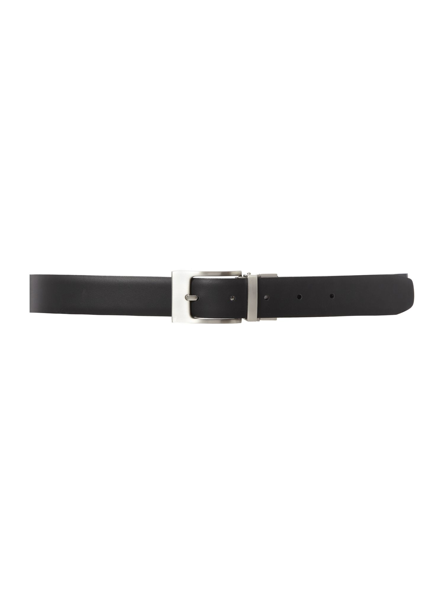Reversible belt with bevelled edge