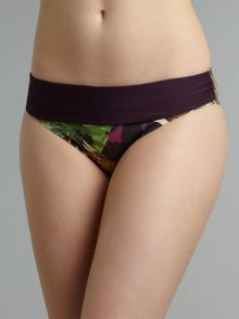 Tropical Island fold bikini brief