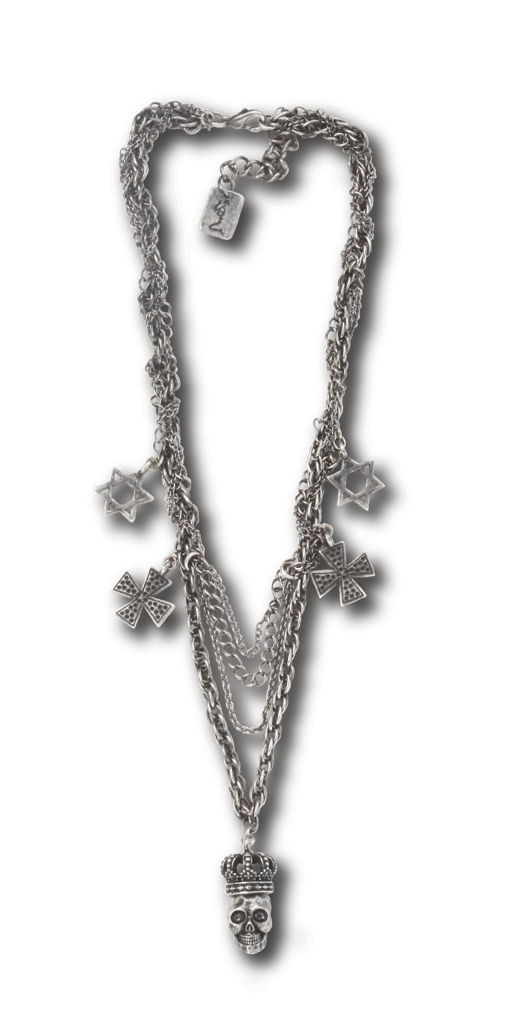 Religion Multi chain necklace