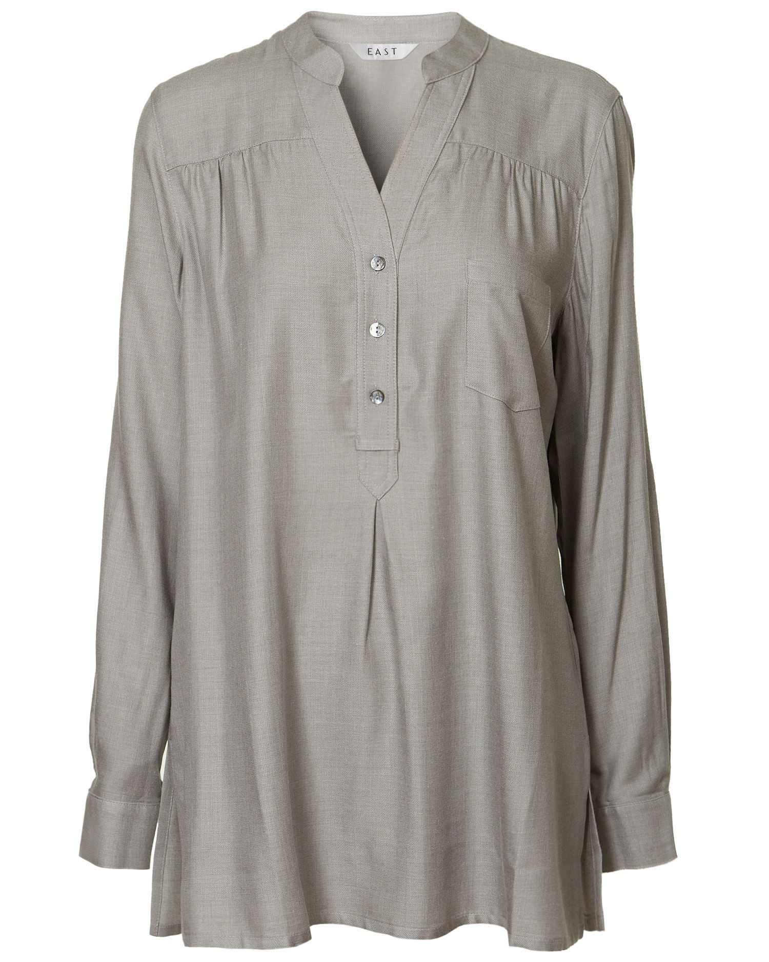 East Womens East Dakota winter blouse, Grey product image