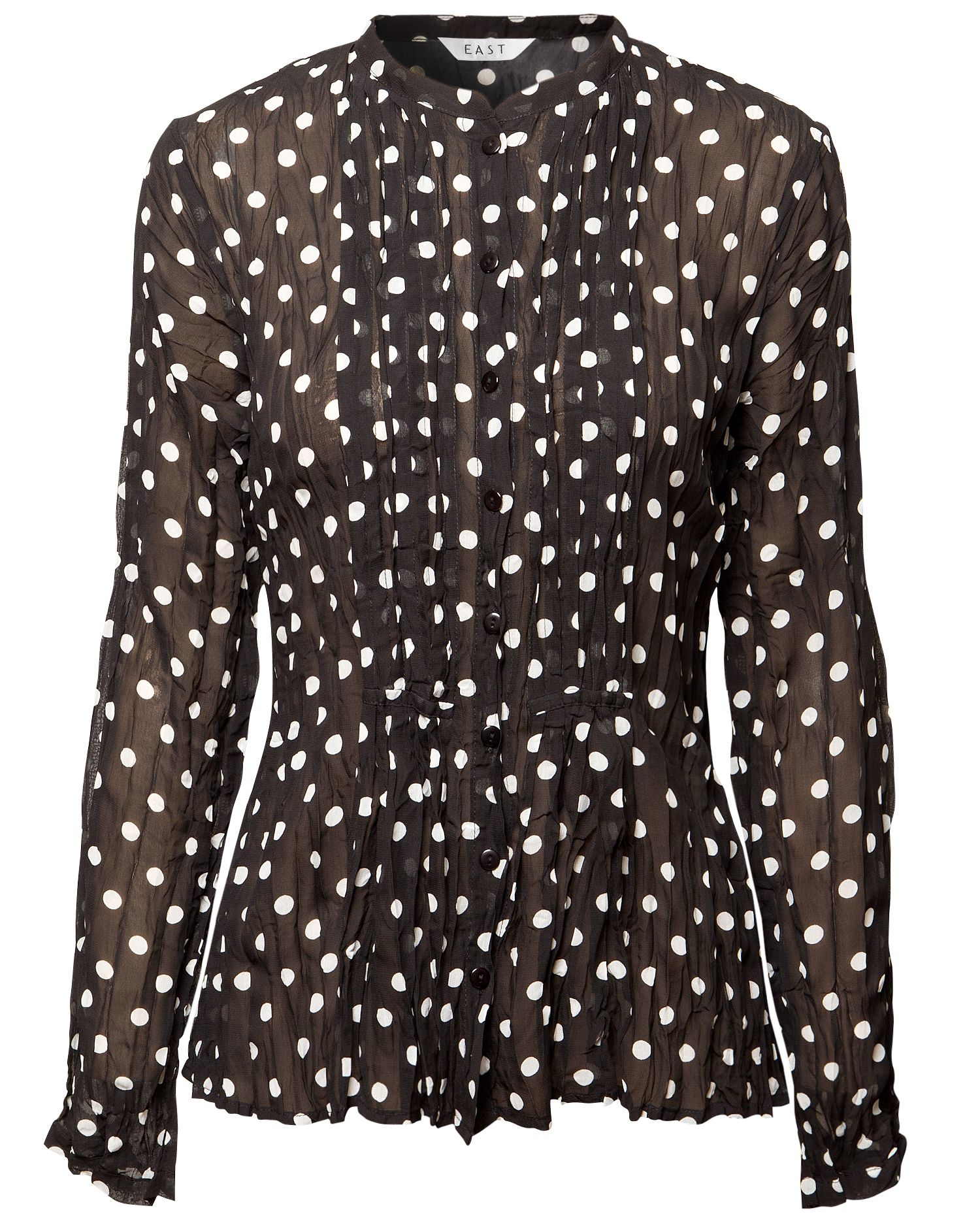 East Womens East Lara spot blouse, Black 161599479 product image