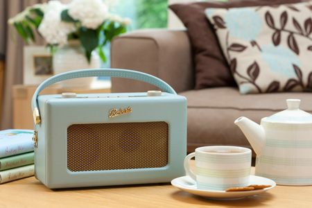Roberts RD60 DAB Radio - Duck Egg Blue