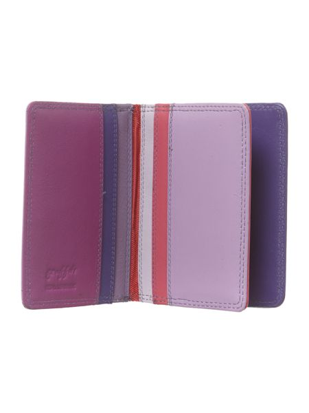 Golunski Multi coloured card holder